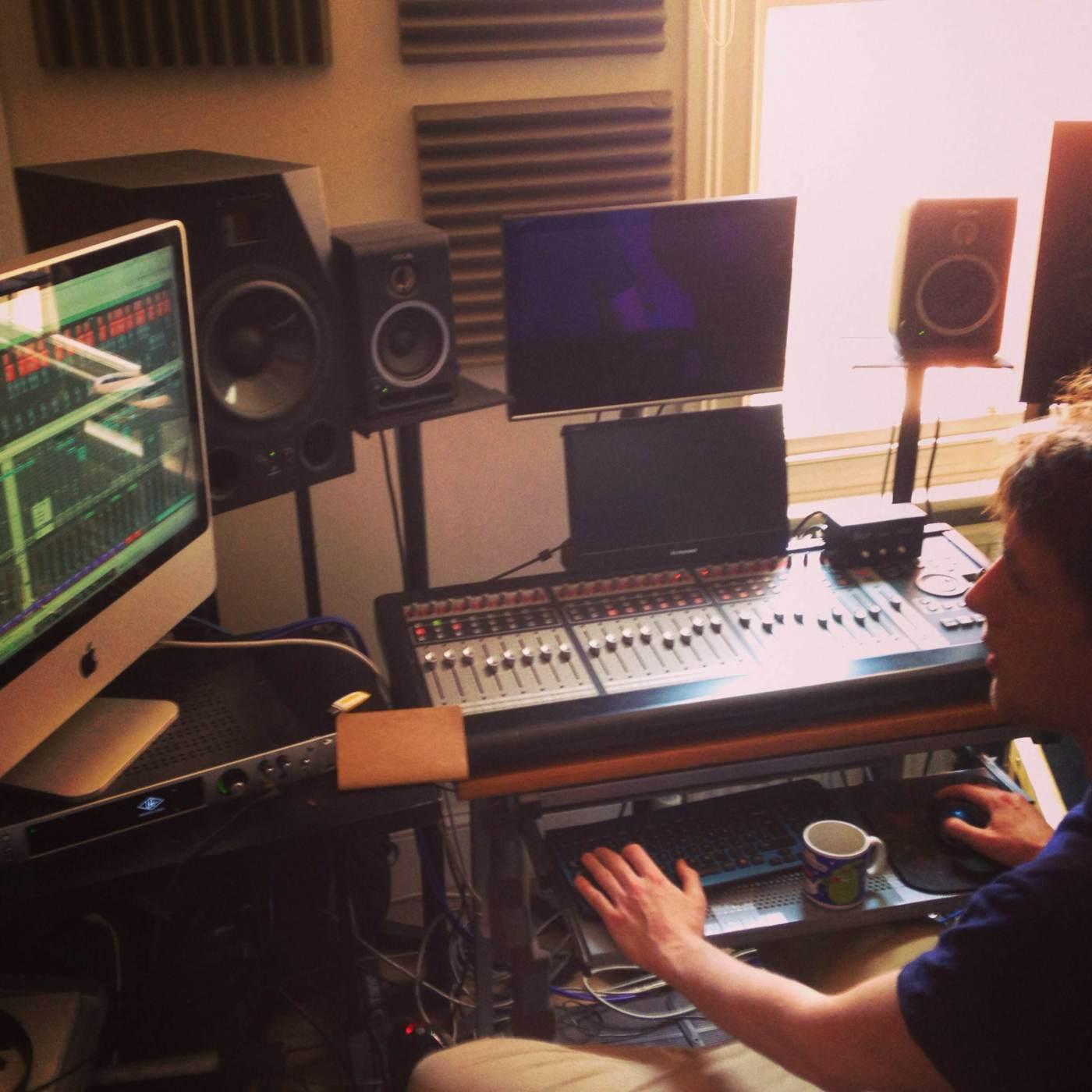 Matt Pike on the mastering!
